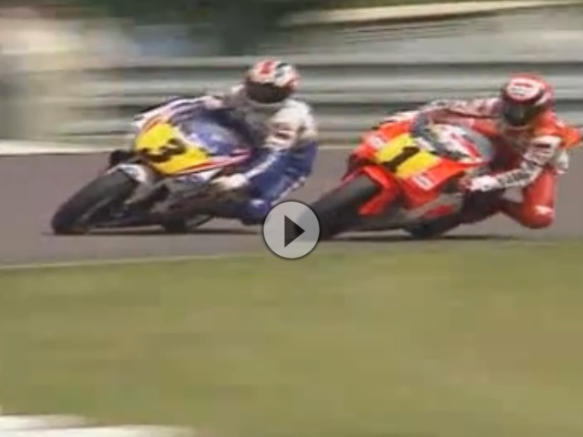 Brünn (Tschechien) 500ccm GP 1991 - Rainey vs. Doohan - WM-Vorentscheidung Attacke