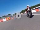Brutal geil: Honda CBX 1000 F1-Sound auf der Renne, Montlhery - Abartig