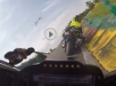 BRUTAL: Spa onboard, 2:31,395 mit Yamaha R1 (RN32) by Hesi 05/18 mit Marvin Fritz
