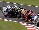 British Superbike BSB 2011 Brands Hatch Round 8 Race1 Highlights