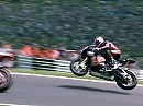 BSB 2010 - Cadwell Park - Superbike Race 1 Highlights incl. Flugstunde