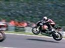 BSB 2010 - Cadwell Park - Superbike Race 1 Highlights incl. Flugstunde