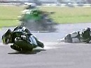 BSB 2010 - Croft - Superbike Race 1 - die Highlights