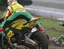 BSB 2010 - Knockhill - Superbike Race 1 Highlights