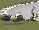 British Supersport (BSS) 2012 Race1 - Zusammenfassung Sturzorgie