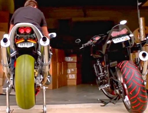 Bunte Motorradreifen mit Tire Penz - darauf hat die Welt ...