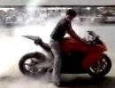KTM RC8 Burnout
