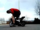 Burn Out Pocket Bike