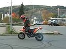 Burnout KTM 625 SMC
