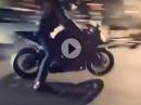 Burnout nix, Wheelie nix, Stoppie nix, Überschlag & Crash perfekt - ÜBEN