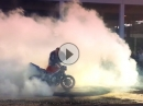 Burnout Show der Black Forest Burnout Crew | Motorradwelt Bodensee