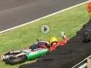 Cadwell Park British Superbike R08/16 (MCE BSB) Race1 Highlights