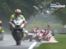 Cadwell Park British Superbike R8 (BSB) Race2 Highlights