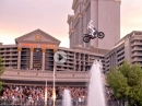 Caesars Fountain Jump: Travis Pastrana Honors Evel Knievel
