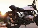Cafe Racer Kawasaki gebaut von Jens Kuck | GRIP - BIKE-EDITION