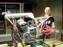 Caferacer Projekt: Benelli 750 Sei, Jung Rahmen, Bimota Schwinge - PS-Treff