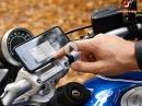 CaliMoto Navigations-App und SP Connect Smartphone Halterung ausprobiert von Asphalt Süchtig