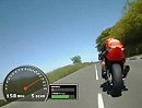 Cameron Donald extrem Angasing / Spaltung 270 km/h Tiefflug - TT2012 Isle of Man