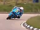 Cameron Donalds mit Capirossis Suzuki GSV-R auf einer TT-Runde. Geil die Reaktion danach!!