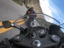 Canyon Run: Suzuki GSXR1000, YamahaR6, Kawasaki ZX6R - Insane riding