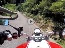 Capovalle (SP113) - Persone (SP9) - Lago di Valvestino mit Ducati Monster