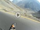 Caracoles (Pass Cuesta Juncal) gefährlichster Pass in Chile (Anden)