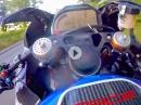 Carbon Waffe: BMW HP4 Race on Fire! Peter Hickman TT2017