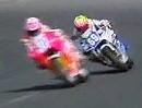 Carl Fogarty vs. Jamie Witham - Suzuki RGV 250 vs. Honda RVF 400 - Oulton Park 1991 Last Lap