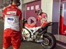 Casey Stoner Ducati Test Katar - Sound pur via MCN