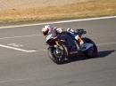 Casey Stoner testet die 2015 Honda RC213V in Motegi