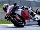 Casey Stoner testet Honda RC213V-S