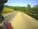Honda CB Sevenfifty zwischen Bettwar und Rothenburg ob der Tauber