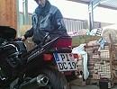 Honda CBR 1000 F SC24 mit BSM Carbon No DB Auspuffanlage