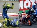 Chaotischstes Rennen 2018  MotoGP Argentinien 2018 TermasClash