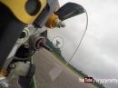 Chennevieres I TrackDay I ROTTY I Crash I Motorspeed I GoPro Feiyutech Gyro Test