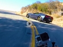 Chevrolet Corvette C7 vs BMW S1000RR by Max Wrist