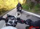 Chillen im Wehratal (Schwarzwald) mit Triumph und Aprilia