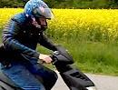 Probefahrt China Motorroller mit Suzuki Bandit Vierzylinder Motor