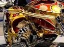 Chopper mit 24 Karat Gold veredelt. Und was ist mir fahren?