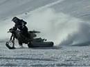 Chris Pfeiffer zeigt was im Schnee mit Explorer Ad Boivin Kettenzusatz geht - geil!!