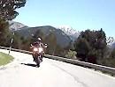 Col d' Ordino, Andorra, Pyrenäen, Motorradtour von Canillo aus