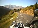 Col d´Aspin (F-Pyrenäen) Westrampe mit BMW R1200 GS