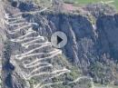 Col de Chaussy - 18 Kehren auf 4 km - Frankreich 2016 für Kurven Fetischisten