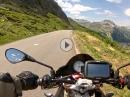 Col de l'Iseran mit Aprilia Tuono V4 1100 RR