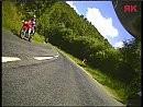 Col de la Charbonnière (Vogesen) mit Yamaha FZS 1000 Fazer