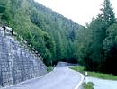 Col de la Forclaz von Le Châtelard Village nach Martigny, Schweiz Kanton Wallis