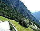 Col des Planches von Martigny nach Sembrancher, Schweiz, Kanton Wallis