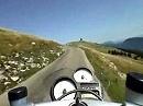 Col du Chasseral Gebirgspass im Schweizer Jura - bikecam.ch