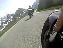 Col du Galibier (Frankreich) Motorradtour anlässlich Schneckeschubsertour 2012