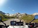Col du Galibier Motorradreise in die französische Seealpen, Frankreich
